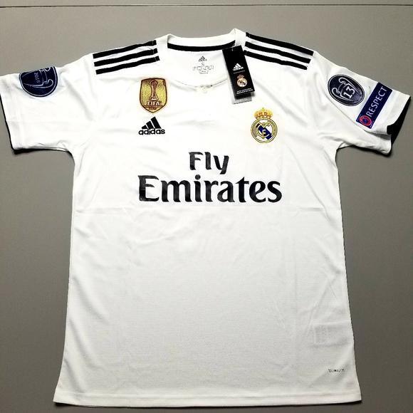 Real Madrid,Sergio Ramos,Size-Medium,US Seller 18//19 Season